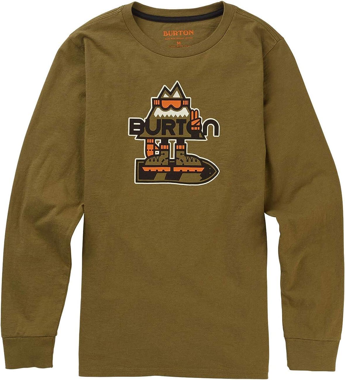 Burton KD Hobbes LS - Camiseta para niño Martini Olive S: Amazon.es: Ropa y accesorios