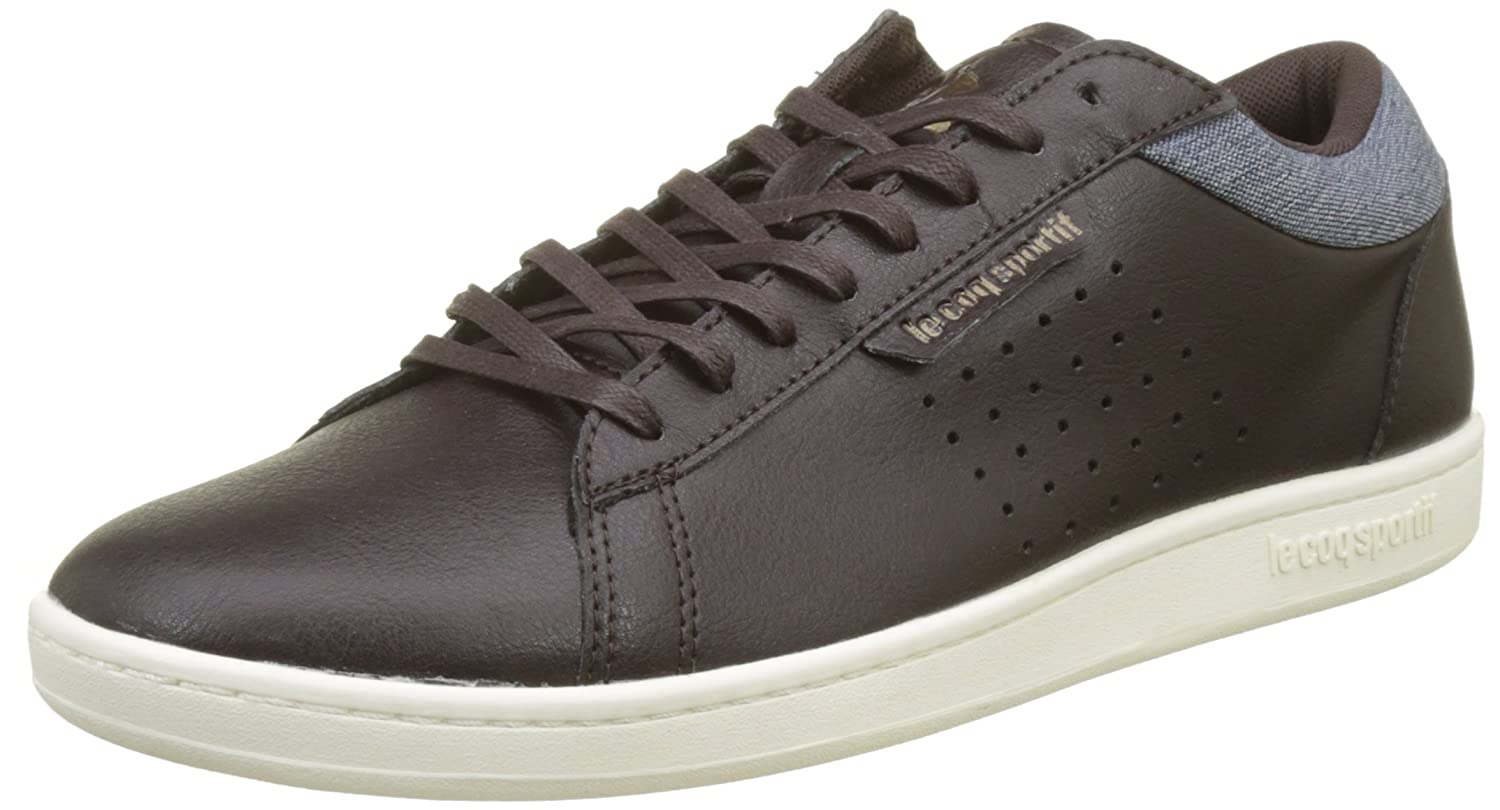 TALLA 41 EU. Le Coq Sportif Courtset Craft Reglisse/Dress Blue, Zapatillas para Hombre