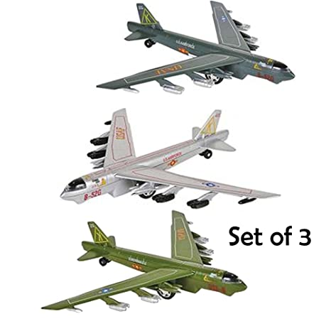 Amazon com: X Planes Air Force (SET OF 3) Die cast PULLBACK