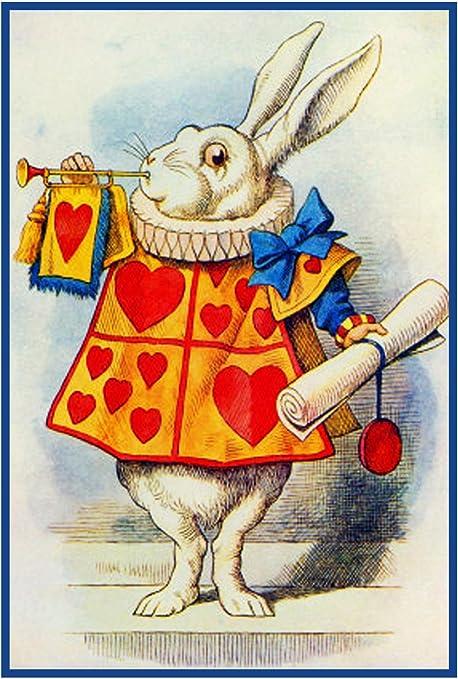 Conejo blanco de Alicia en el país de las maravillas por Tenniel ...