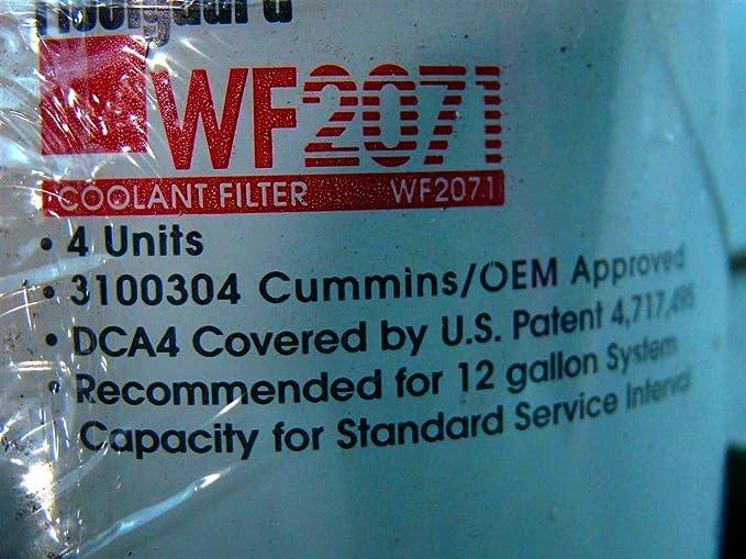 SPAREX® Filter für Kuehlwasser  WF2071