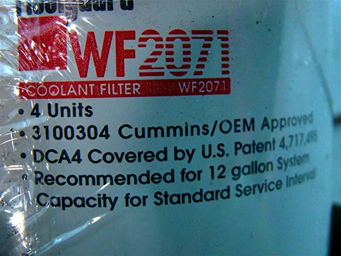 Fleetguard WF2071, Coolant Filter, for Cummins and International Engines
