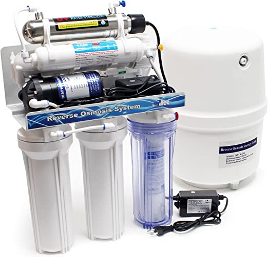 Naturewater NW-RO50-A2UV Equipo osmosis inversa (RO) 6-Etapas ...