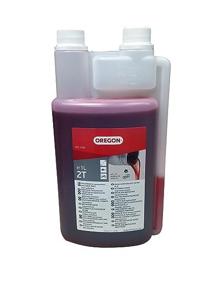Oregon O11-1140 - 1 litro de aceite de 2 tiempos: Amazon.es ...