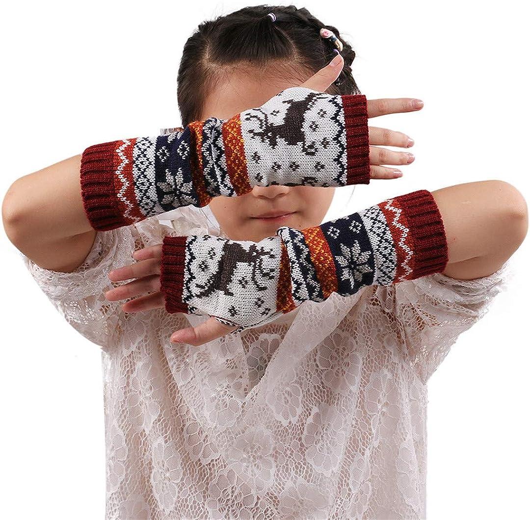 Women Knitting Fingerless...