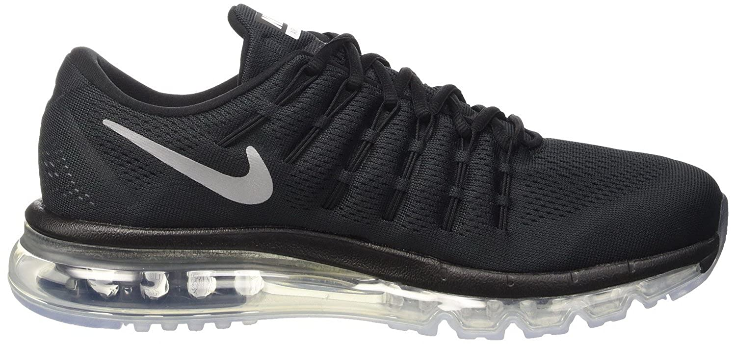 For Sale Mens Nike Air Max 2016 806771-001 Black Running Shoes Size 12
