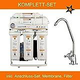 Directquell Umkehrosmose Directflow Wasserfilter. KEIN TANK MEHR NÖTIG!