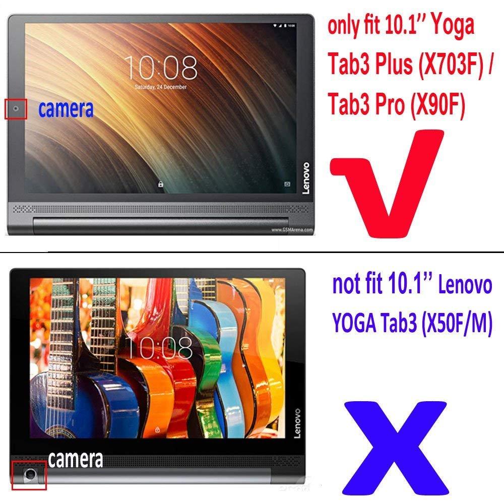 2 paquetes] Lenovo Yoga Tab 3 Plus Protector de pantalla, 9h ...