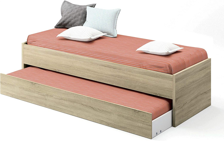 Pitarch Cama Nido Color Cambrian Dormitorio habitación Juvenil niños 90x190