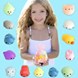 BEEYEO 20Pcs Squishy Toys, Kawaii Squishies Mochi