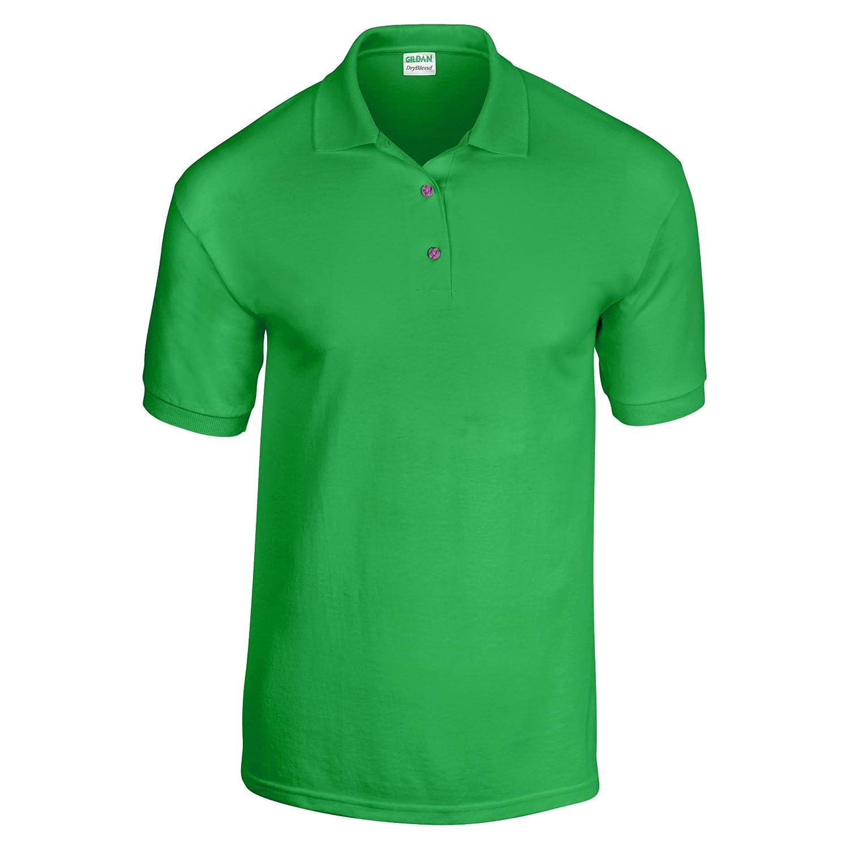 31acb96bd02 Gildan Adult DryBlend Jersey Short Sleeve Polo Shirt at Amazon Men s  Clothing store  Purple Shirt