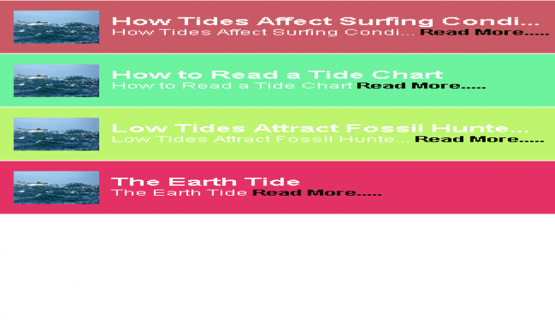 Amazon Tides Tips Appstore For Android