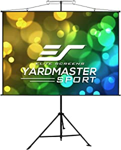 Elite Screens Yard Master Sport, 96 inch 1:1, 2-in-1 Portable Outdoor Indoor Projector Screen Front Projection Carrying Bag, Movie Home Theater 8K 4K Ultra HD Ready, US Based Company 2-YEAR WARRANTY