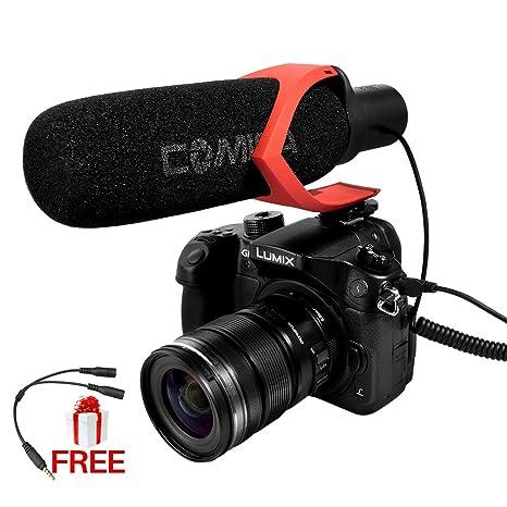 ulanzi comica cvm-v30 escopeta micrófono de la cámara, hyper ...