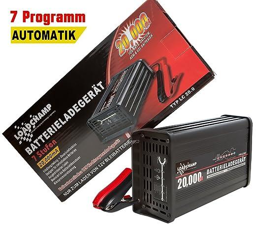 Loadchamp 20a Automatisches Batterie Ladegerät Agm Gel Calcium Solar