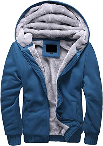 polaire veste automne Sweatshirts  à CAPUCHE  automne hiver manteau pour HOMME