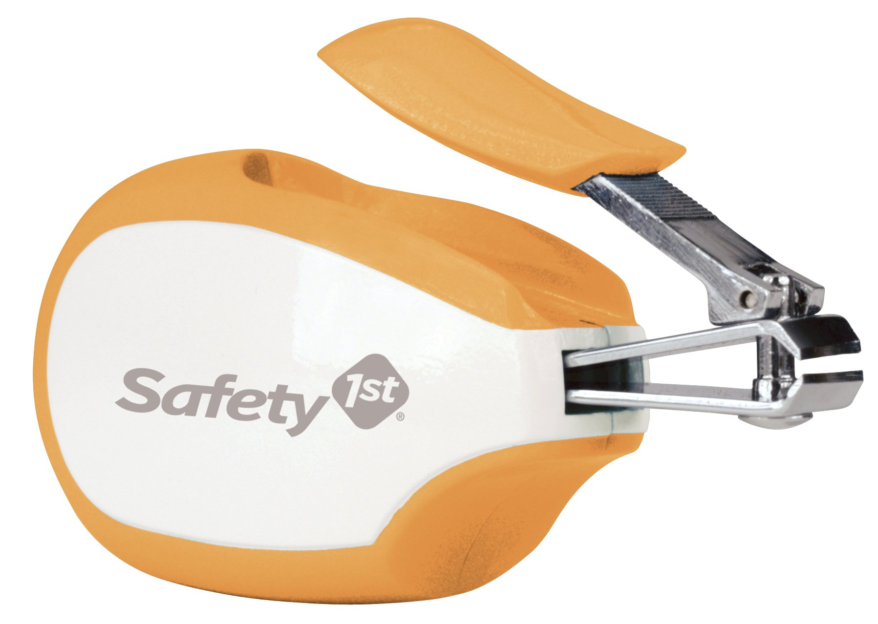 Safety 1st Steady Grip Infant Nail Clipper (Colors May Vary) 2 Designed for baby's nails - Nail clipper is specially designed for trimming tiny finger and toe nails Easy to hold & use - Extra-large, soft-touch handle provides a more comfortable and secure grip Safe for all ages - Nail clippers can be used from newborns to toddlers