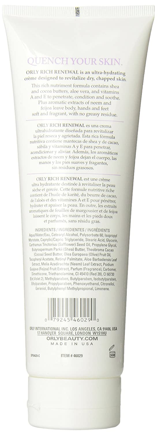 Amazon.com : Orly Hydrating Creme, Passion, 8 Ounce : Hand Creams : Beauty