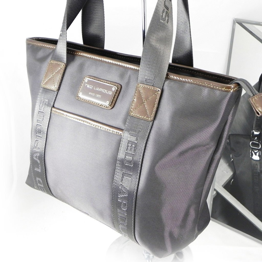 Shopping bag Ted Lapidus gray.