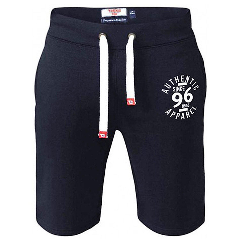 TALLA L. D555 Big para Hombre de Cama de Matrimonio de elástica en la Cintura Pantalones Cortos Duke Maletero New Combatir Casual