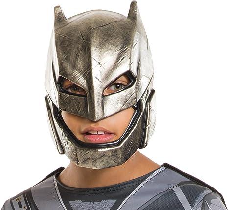Rubies Costume Batman V Superman-Dawn of Justice Kids Armored Batman Half Mask