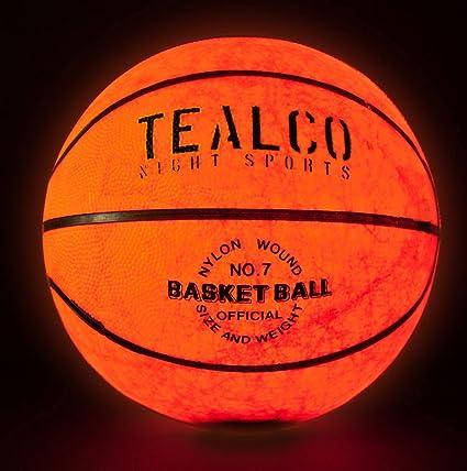 Amazon.com: tealco Light-Up – Balón de baloncesto (Tamaño ...