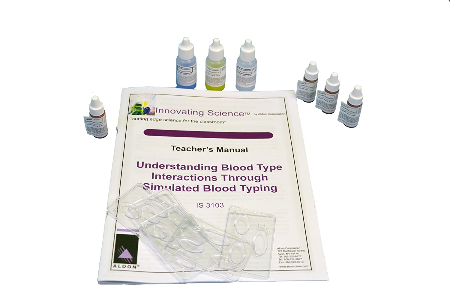Refill for ABO//Rh Blood Typing Kit Innovating Science