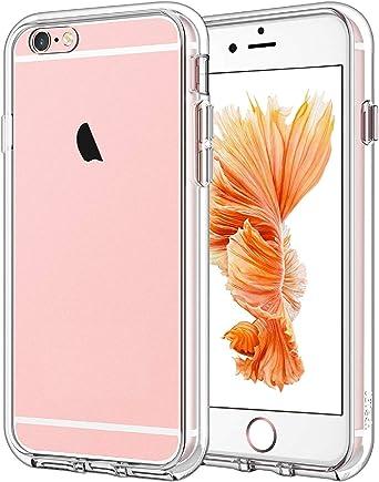 JETech Cover Compatibile iPhone 6/6s, Custodia con Paraurti Assorbimento degli Urti e Anti-Graffio, Trasparente HD Chiaro