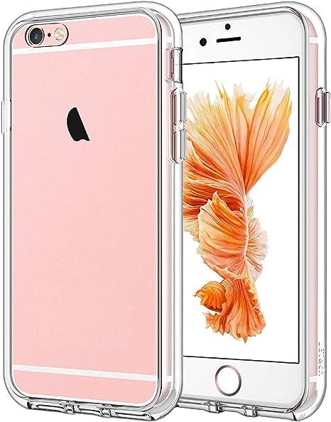 JETech Coque Compatible avec iPhone 6s et iPhone 6, Housse de Protection Transparente Anti-Chocs et Anti-Rayures, HD Clair