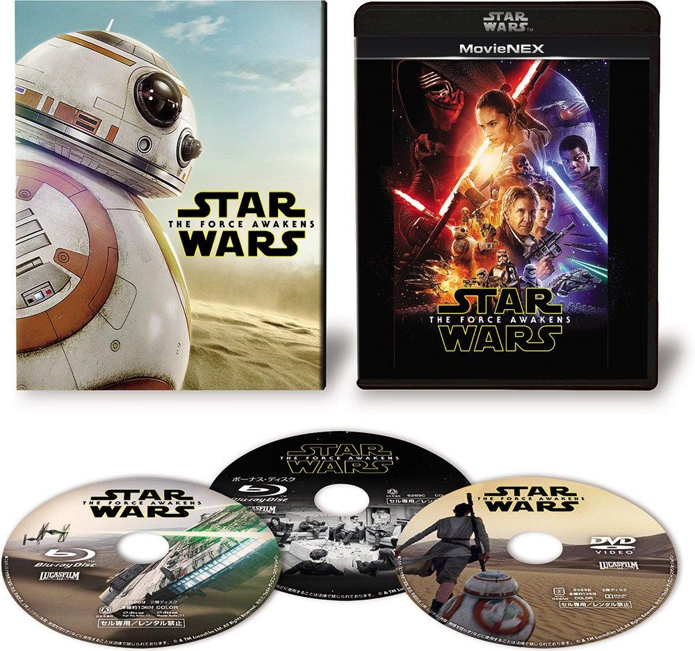 スター・ウォーズ/フォースの覚醒 MovieNEX(初回限定版) [ブルーレイ DVD デジタルコピー(クラウド対応) MovieNEXワールド] [Blu-ray]