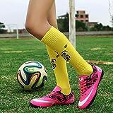 Virility 温尔仕 2018秋季新款 AG长钉儿童足球鞋 男女TF碎钉足球鞋 亲子装训练鞋 ANS888RT