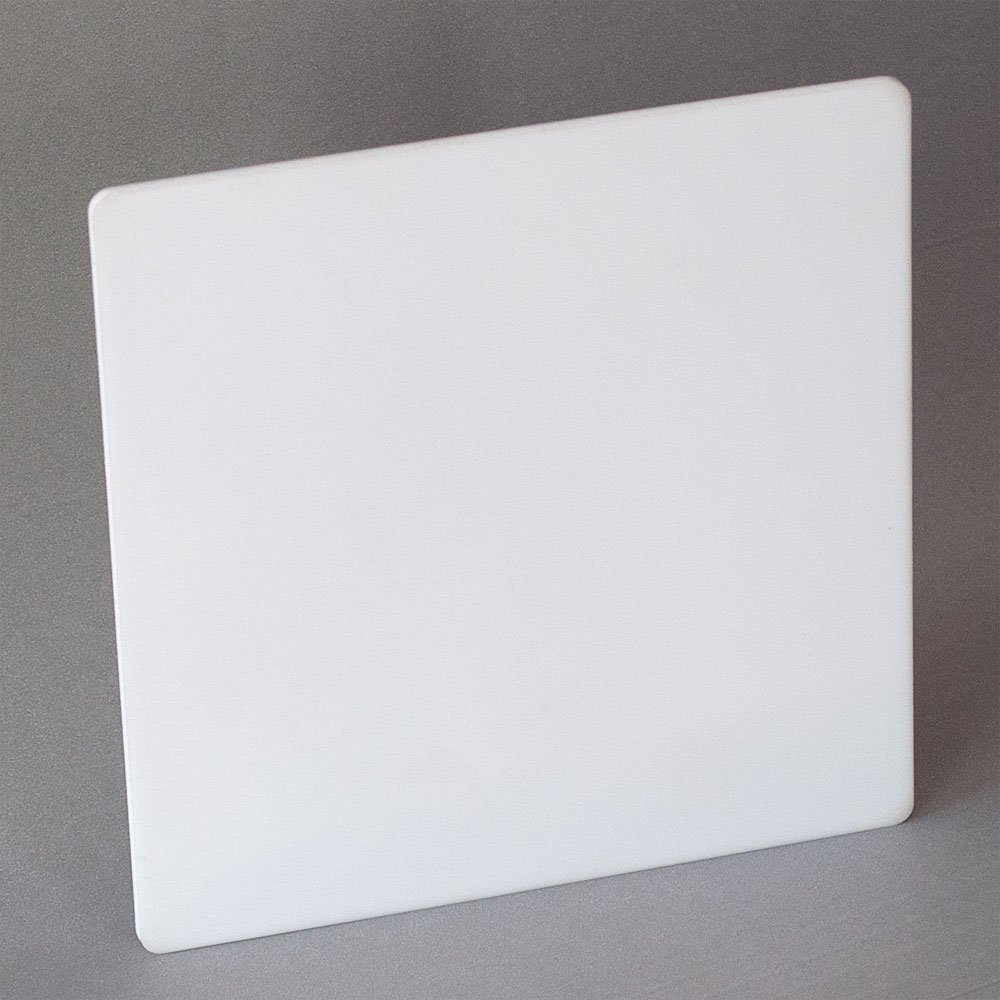 Alumina 96%, AS1-100, Fully Fired Ceramic Substrate Sheet, .100'' Thick X 4.441'' X 4.446'' by Alumina