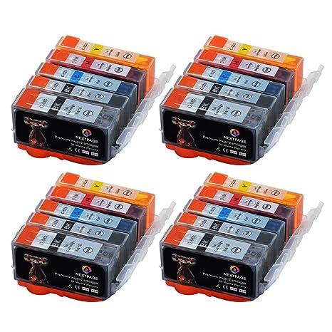 Cartridge PGI-525 CLI-526 Pack de 20 Cartuchos de tinta Compatible ...
