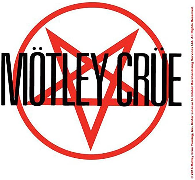 Officiel Motley Flood T Shirt Shout at the devil la saleté Tour Band Logo Homme