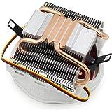 120MM大型ファン 銅ヒートパイプ4本 ラジエーター ヒートシンク CPUクーラー Intel AMD用