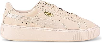 Puma Suede Platform Mono Satin Damen Sneakers Schuhe Neu