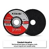 KSEIBI 50 Pack 646004 Angle Grinder Cut Off