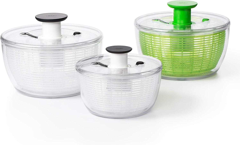 Mini Essoreuse /à Salade Diam 1045409 Transparent Oxo 20 cm