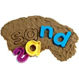 Learning Resources Lowercase Alphabet Sand Molds, Set of 26