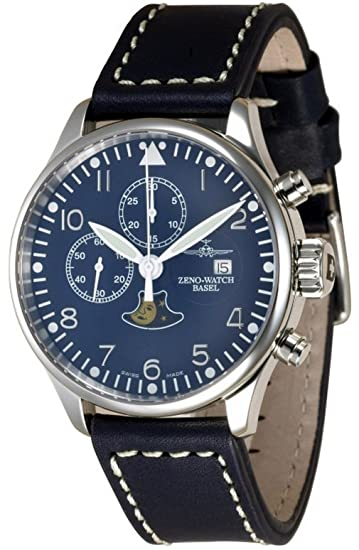 Zeno-Watch Reloj Mujer - Vintage Chrono 7768 - Limited Edition - 4100-i4: Amazon.es: Relojes