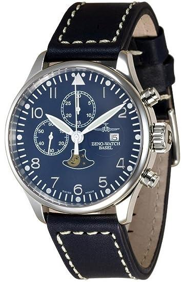 Zeno-Watch Reloj Mujer - Vintage Chrono 7768 - Limited Edition - 4100-i4: Amazon.es: Relojes