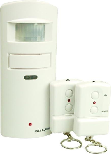 Elro SC84 - Mini alarma hogar con dos mandos a distancia formato llavero