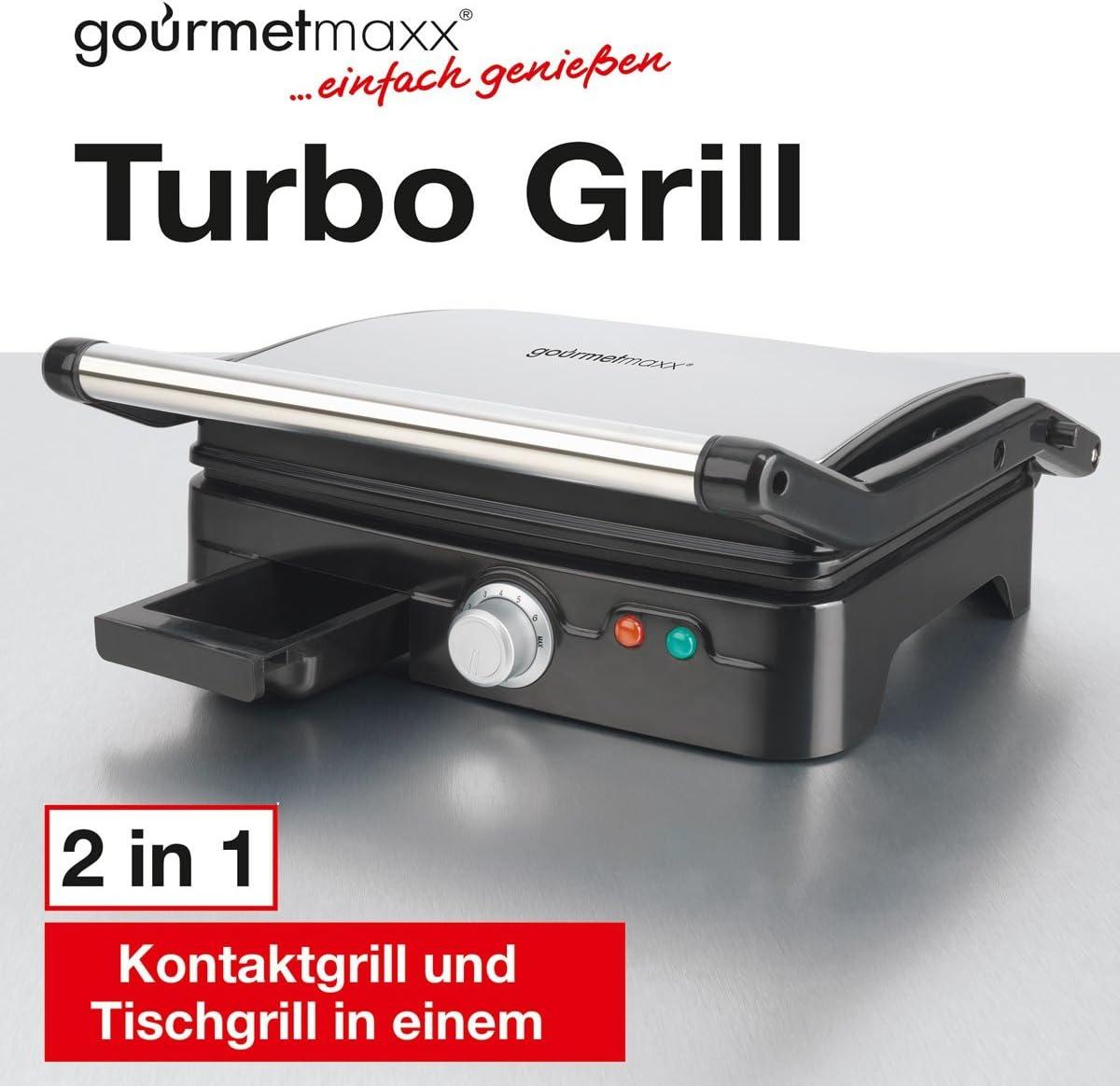 TV Unser Original 07301 Gourmetmaxx Turbo Barbecue avec