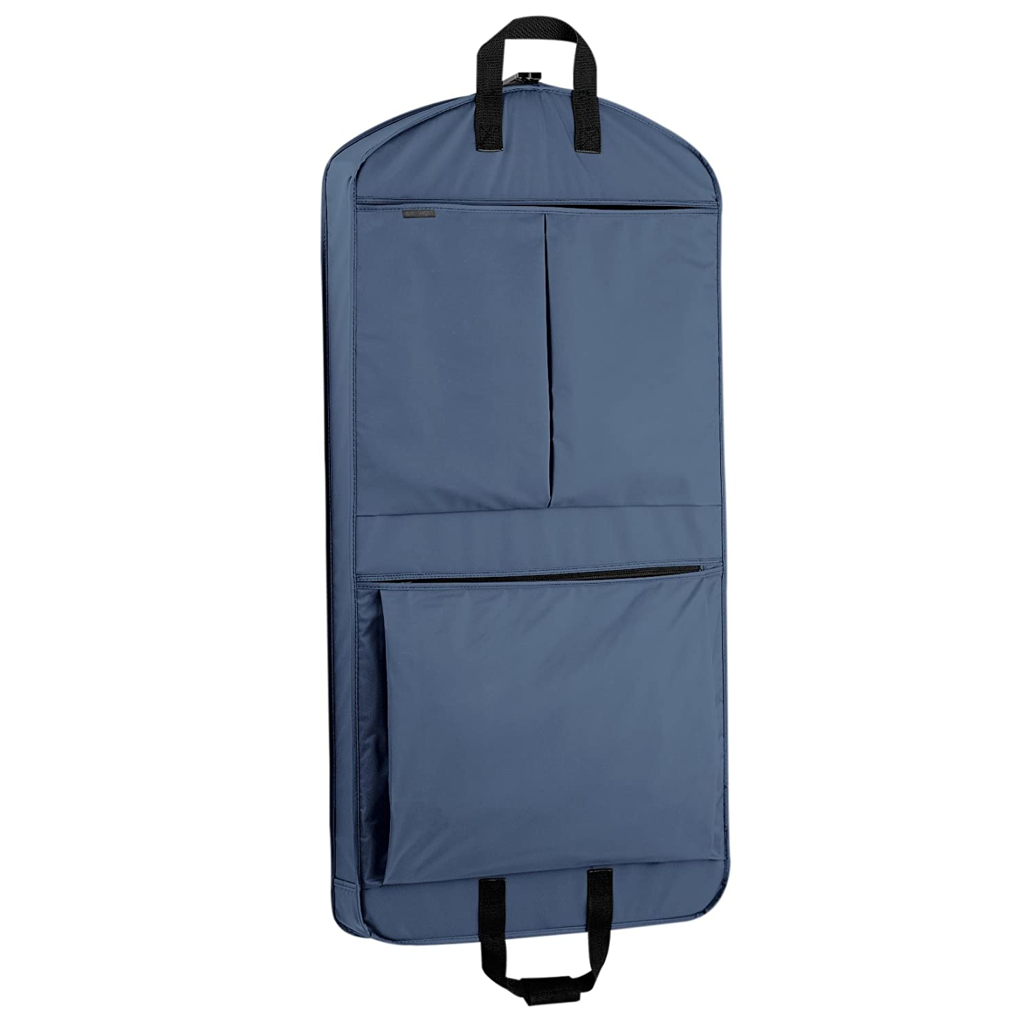 WallyBags 45-inch Suit Length, Carry-On, XL Garment Bag with Two Pockets and Extra Capacity 858