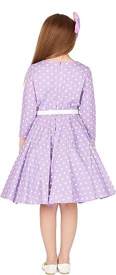 64581a1f15e2a BlackButterfly Enfants Robe Années 50 Vintage Les Coeurs  Chloe    Amazon.fr  Vêtements et accessoires