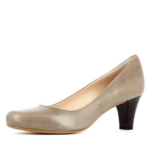 26355b20 Evita Shoes Giusy - Zapatos de vestir de Piel para mujer, color marrón,  talla 41 EU: Amazon.es: Zapatos y complementos