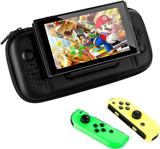 Funda con Soporte para Nintendo Switch, VAGHVEO Dura Viaje ...