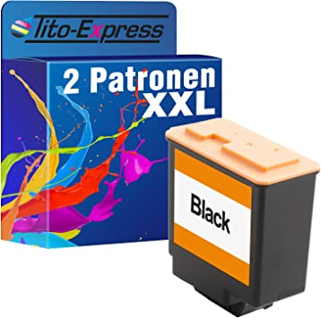 Tito Express Platinumserie 2 Patronen Xxl Als Ersatz Für Philips Fax Pfa 441 Geeignet Für Philips Faxjet 500 520 525 525ipf 555 Bürobedarf Schreibwaren
