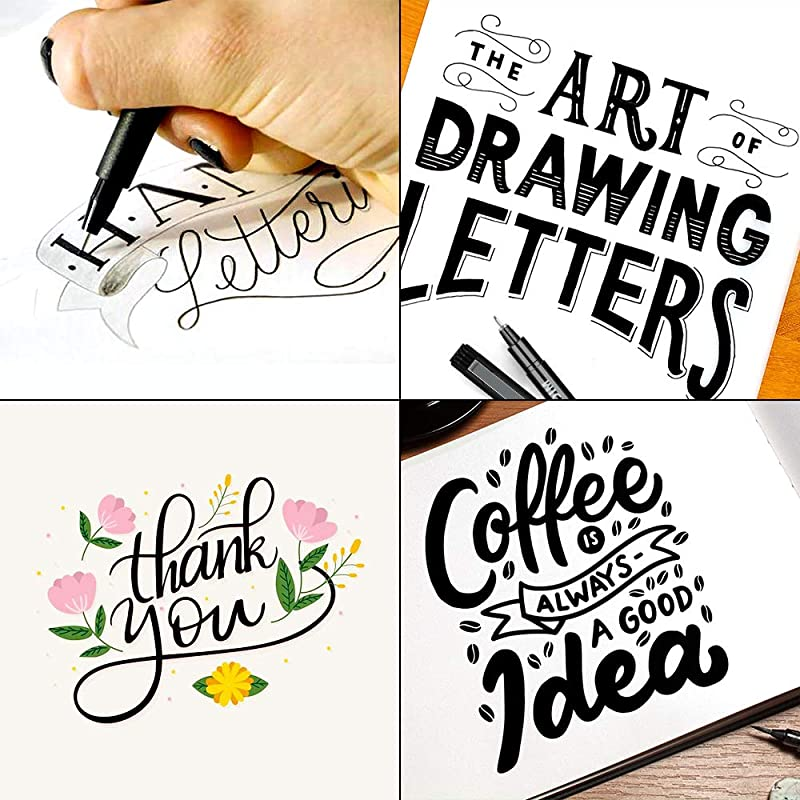 SAKEYR Hand Lettering and Calligraphy Pens