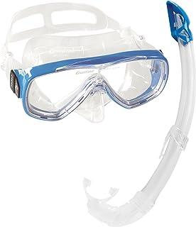 Cressi Perla & Gamma Kit de máscara y Tubo, Unisex Adulto